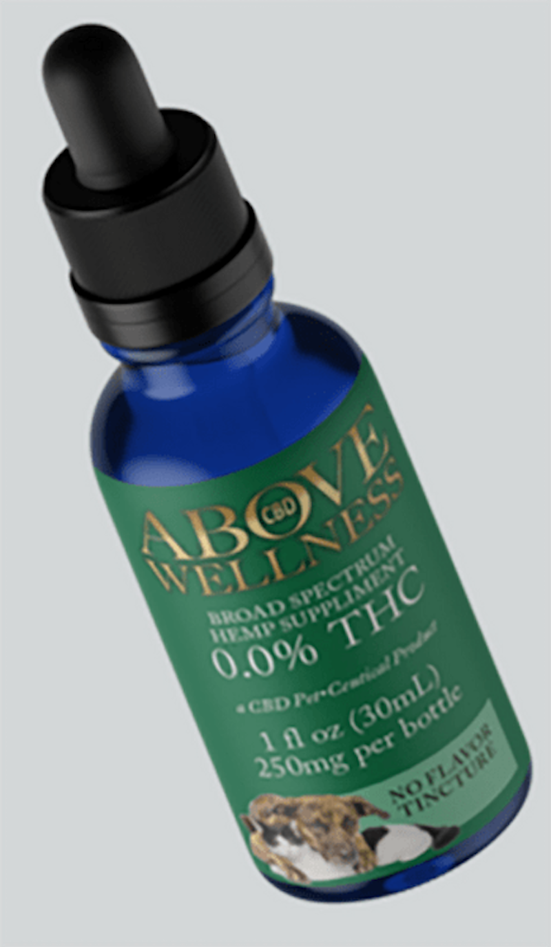 Above Wellness, Pet Oil 250mg