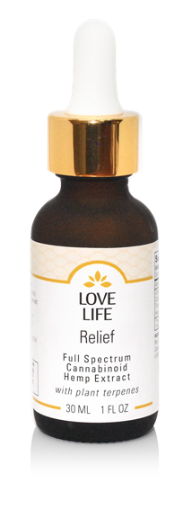 Love Life, Relief Tincture 250mg