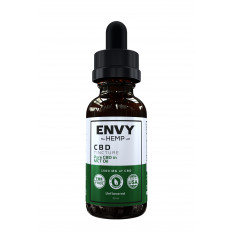 Envy Hemp, Pure CBD in MCT Tincture With 1500mg (30mL)