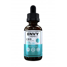 Envy Hemp, Water-Soluble Pure CBD Tincture With 500mg CBD (60mL)