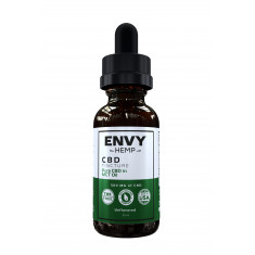 Envy Hemp, Pure CBD in MCT Tincture With 500mg CBD