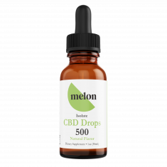Melon CBD, CBD Isolate drops (natural)
