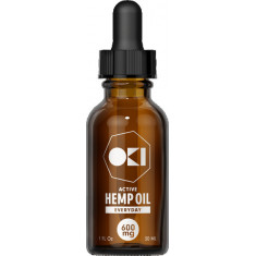 Oki, CBD Oil Everyday 600mg (20mg per serving)