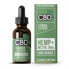CBDfx CBD MCT Oil Flavored Tincture - Lemon Lime Mint