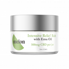 Melon CBD, Intensive Relief Rub With Emu Oil