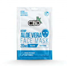 CBDfx Aloe Vera Hemp Mask (20 mg of CBD)
