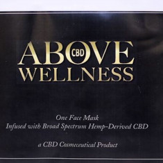 Above Wellness, Hemp Oil Infused Face Mask