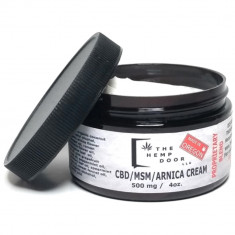 Hemp Door, CBD/MSM/Arnica Cream 500mg
