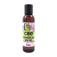 Hemp Door, CBD Massage Oil 800mg