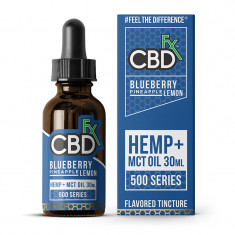 CBDfx CBD MCT Oil Flavored Tincture - Blueberry Pineapple Lemon