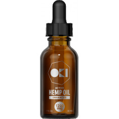 Oki, CBD Oil Enhanced 1200mg (40mg per serving)