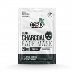 CBDfx Charcoal Hemp Mask (20 mg of CBD)