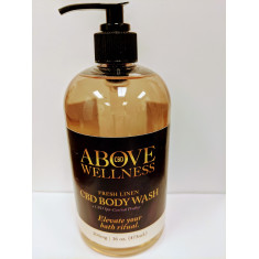 Above Wellness, CBD Body Wash (Clear)