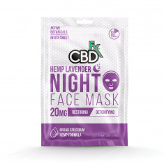 CBDfx Night Hemp Mask (20 mg of CBD)
