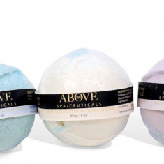 Above Wellness, CBD Bath Bomb & Body Wash Combo