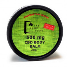 Hemp Door, CBD Body Balm 500mg